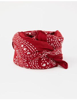 Classic Red Bandanna by Pull & Bear