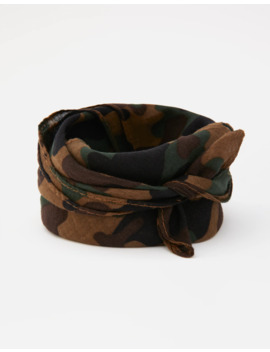 Camouflage Bandanna by Pull & Bear