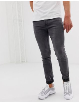 Only &Amp; Sons Slim Fit Jeans In Grey by Only & Sons