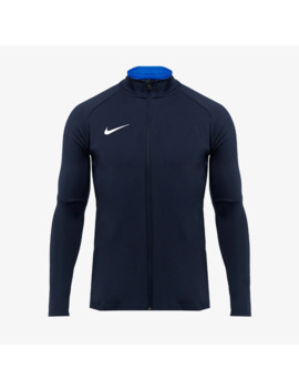 Nike Academy 18 Woven Tracksuit   Obsidian/Royal Blue by Pro Direct Soccer