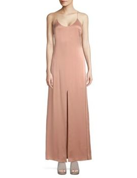 Elza Silk Maxi Dress by Alice + Olivia