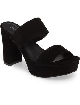 Adriana 2 Platform Slide Sandal by Jeffrey Campbell