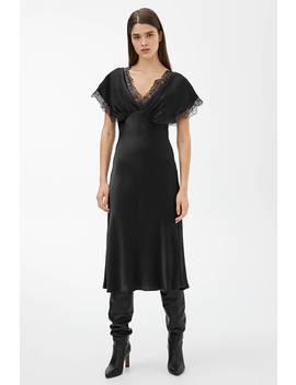 Lustrous Satin Dress by Arket