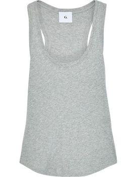 Mélange Cotton Jersey Tank by G. Label