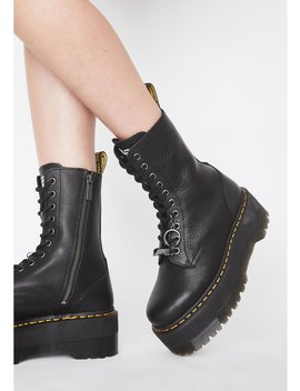 X Dolls Kill Jadon Hi Max Boots by Dr. Martens X Dolls Kill