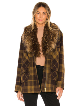 Faux Fur Barn Jacket by Smythe