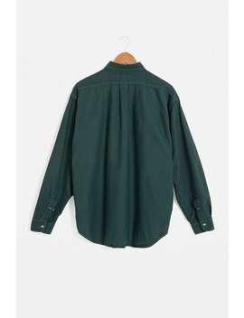Urban Renewal  – Grün Eingefärbtes Hemd Im Vintage Look Von Ralph Lauren by Urban Renewal