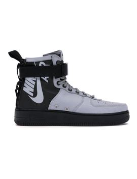 Sf Air Force 1 Mid Wolf Grey Black by Stock X