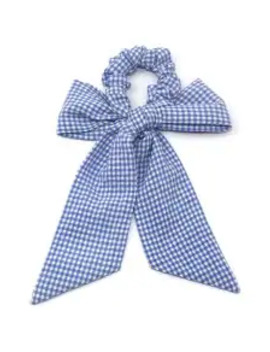 Sale Plaid Print Bowknot Design Hairband   Sky Blue by Zaful