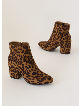 Around The Block Faux Suede Booties by Go Jane