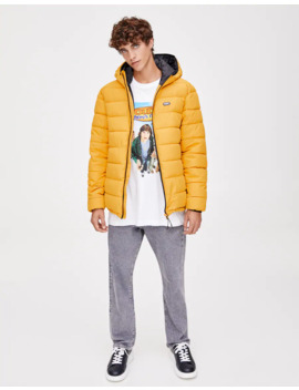 Lightweight Quilted Jacket In A Range Of Colours by Pull & Bear