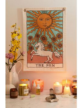 Sun Tarot Card Tapestry by Urban Outfitters