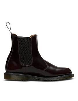 Dr. Martens Flora Pull On Chelsea Boots Standard Fit by Simply Be