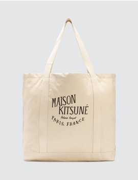 Palais Royal Shopping Bag by              Maison Kitsune
