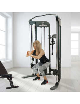 Inspire Fitness Ftx Functional Trainer With Bench And 1 Year Fitness App Included, Minimal Assembly Required by Costco