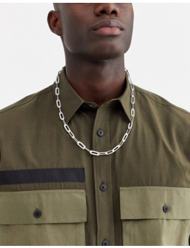 Asos Design – Silberne Halskette by Asos