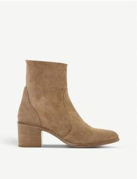 parsonns-nubuck-leather-ankle-boots by dune