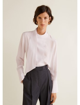 100% Silk Blouse by Mango