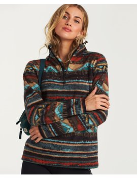 A/Div Boundary Mock Neck Fleece by Billabong