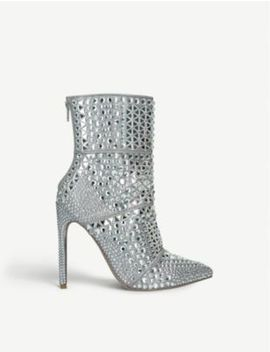 Whole Rhinestone Embellished Ankle Boots by Steve Madden