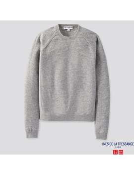 Ines De La Fressange Cashmere Crew Neck Sweater by Uniqlo