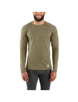 Base Force® Heavyweight Poly Wool Crew (No Pocket) by Carhartt