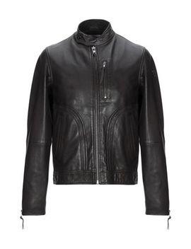 biker-jacket by trussardi-jeans