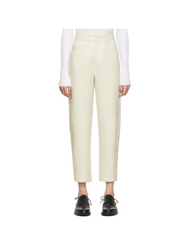 Off White Novara Trousers by TotÊme