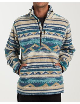 Boundary Mock Half Zip Pullover Fleece by Billabong