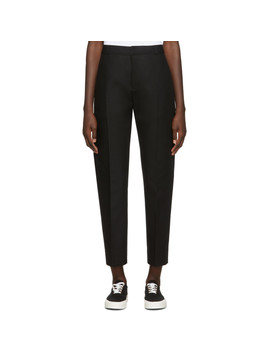 Black Masculine Trousers by Maison KitsunÉ