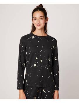 Camiseta Lunas Y Estrellas by Oysho