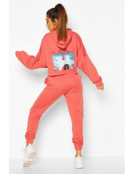 disney-princess-ariel-hooded-lounge-set by boohoo