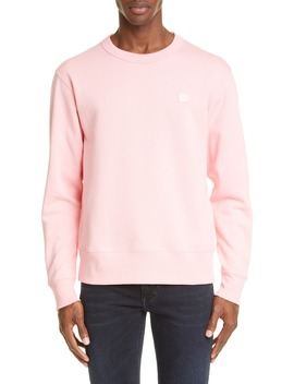 Fairview Face Crewneck Sweatshirt by Acne Studios