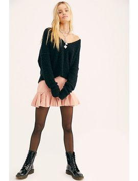 Understated Studded Trumpet Mini Skirt by Understated Leather
