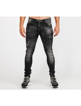 Acardi Super Slim Denim Jean | Black Wash by Alessandro Zavetti