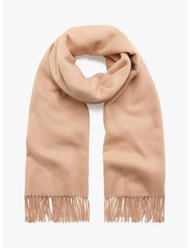 Mulberry Solid Lambswool Scarf, Rosewater by Mulberry
