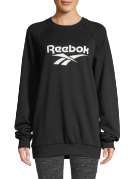 Logo French Terry Sweatshirt by Reebok