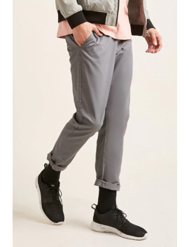 Slim Fit Twill Chinos by Forever 21