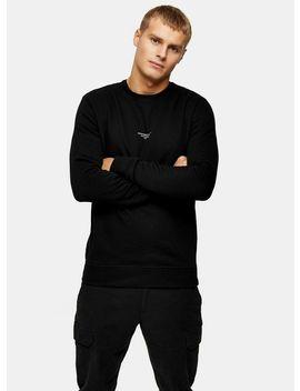 Good For Nothing Black Print Sweatshirt by Topman