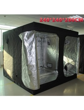 High Refective Hydroponic Indoor Garden Big Grow Tent Green Room 240*240*200 Cm by Wish