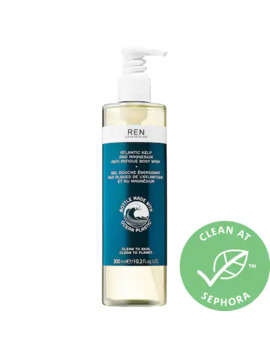 Atlantic Kelp And Magnesium Anti Fatigue Body Wash   100% Recycled Plastic by Ren Clean Skincare