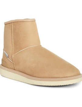 Els M2ab Genuine Shearling Bootie by Suicoke