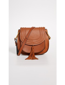 Chloe Brown Leather Hudson Bag by What Goes Around Comes Around