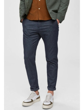 Slhslim Arval Pants   Stoffhose   Navy Blazer by Selected Homme