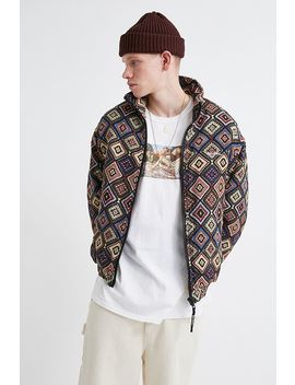 Iets Frans… Allover Tapestry Print Bomber Jacket by Iets Frans...
