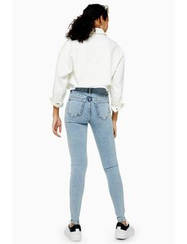Tall Bleach Wash Jamie Jeans by Topshop