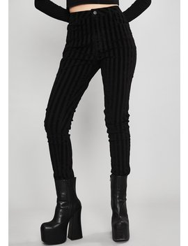 Fallen Idol Striped Jeans by Widow
