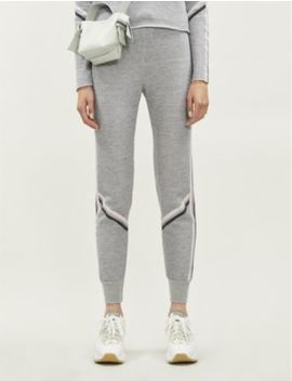 Spectral Contrast Trim Cotton Blend Jogging Bottoms by Wildfox