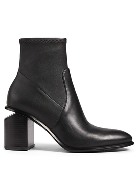 Anna Stretch Leather Ankle Boots by Holt Renfrew