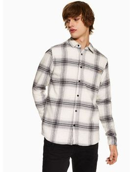 only-&-sons-white-brushed-shirt by topman